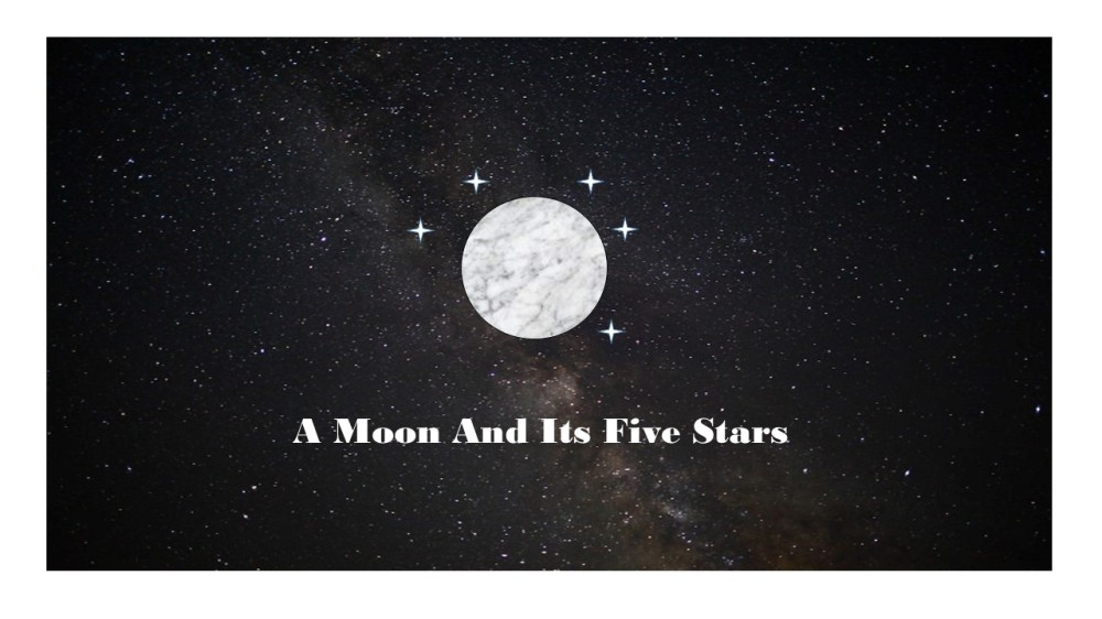 A Moon and Its Five Stars Blog2